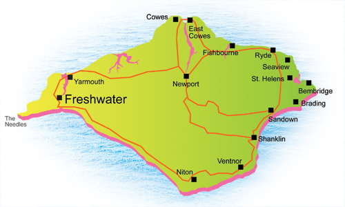 Holiday Properties To Let In Freshwater Isle of Wight