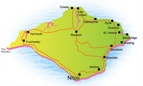 Holiday Properties To Let In Niton Isle of Wight